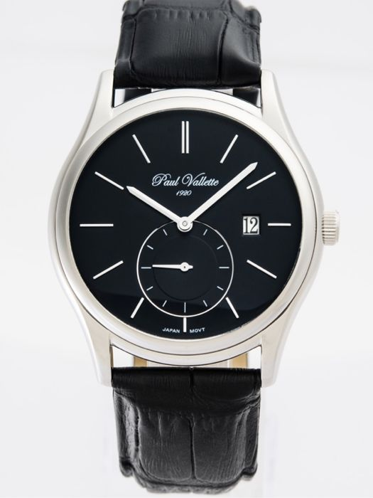 Paul Vallette  - Prestige Men's Watch 42mm - PV150211-SS-05 (No reserve price) - Uomo - 2011-presente