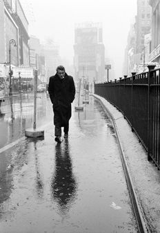 Dennis Stock (1928 -2010) - James Dean haunting Times Square, 1955
