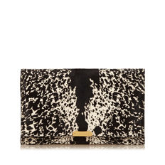 Burberry - Printed Pony Hair Clutch
