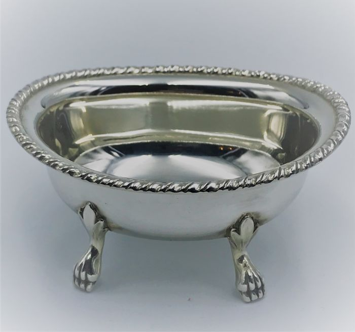 Exquisite Hand-Wrought Sugar Bowl, San Marco Rino Greggio Padua (Italy), mid 20th c
