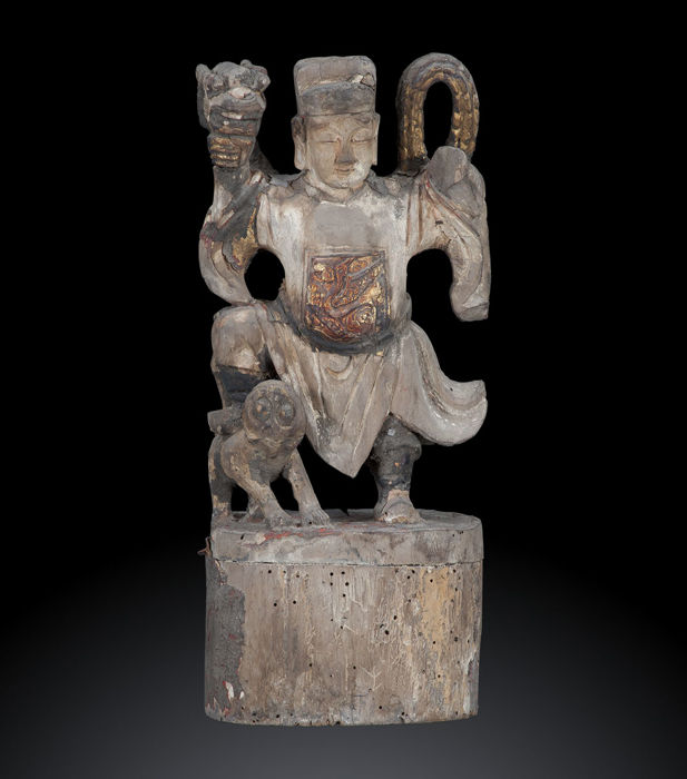 Sculpture by a master of martial arts, Qing dynasty