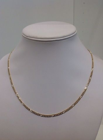 18 kt yellow gold necklace - Weight: 11.80 g - Length: 50 cm