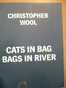 Christopher Wool - Cats in Bag Bags in River