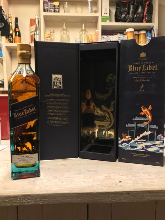 Johnnie walker Blue Label Carp and Dragon