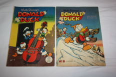 Donald Duck weekblad Nos. 7 + 8 - sc - 1st edition - (1952)