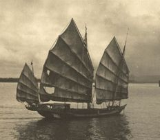 R. Schumser - Traditional Chinese Junk, 1930s