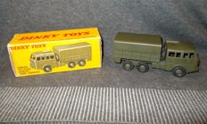 French Dinky Toys - Scale 1/55 - Camion Militaire Berliet Tous Terrains No.80D - 6 Wheel All Terrain Truck