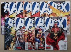 Marvel Comics - Avengers Vs X-men - Issues #0-12 - Complete Set - x13 SC - (2012)