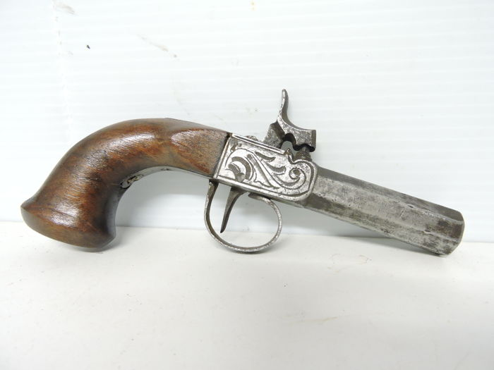 Percussion pistol 1840/50.