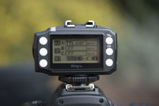 Pixel King Pro I-TLL - 1 transmitter with LCD display (up to 300 m) and two receivers (for two flashes)