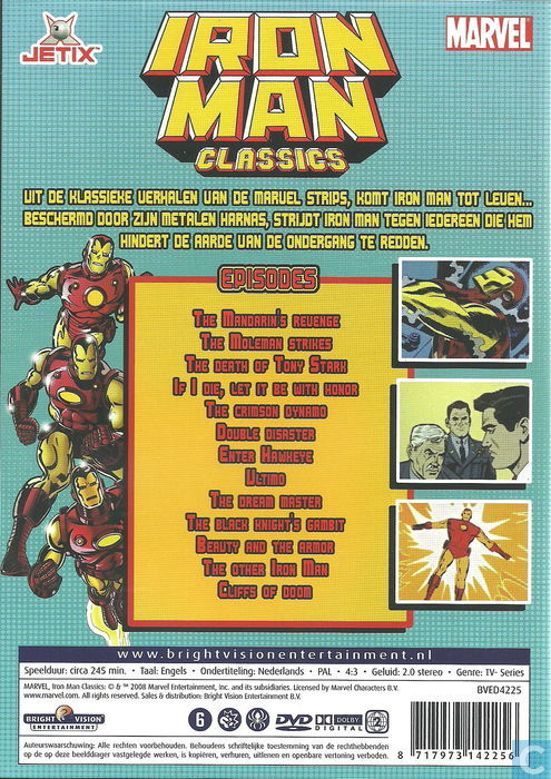 Iron Man Classic - The Complete Series - DVD - Catawiki