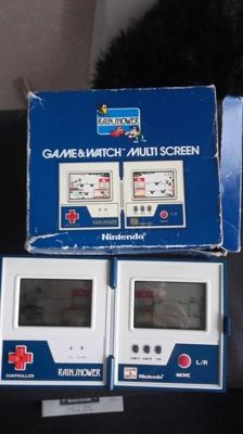 Game & Watch - Rainshower multiscreen - boxed