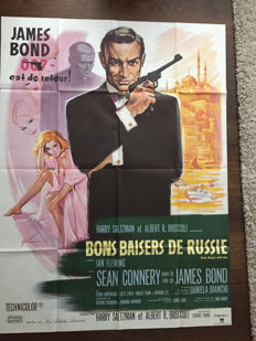 Boris Grisson-  James Bond, From Russia with Love - 1963