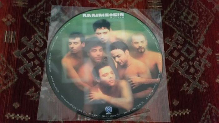 Rammstein 2 Very Rare Albums In 3 Records Ein Bisschen Krieg (2) Mutter Picture Disc
