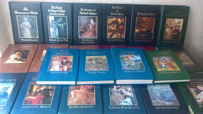 Classical literature; The Great Writers' Library - 22 volumes - 1986/1987