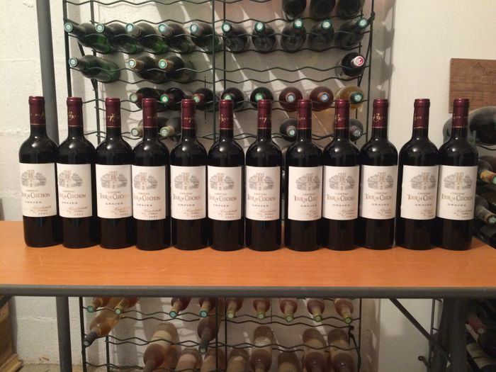 2005 Château La Tour de Cluchon, Graves AOC - 12 bottles - epic year !