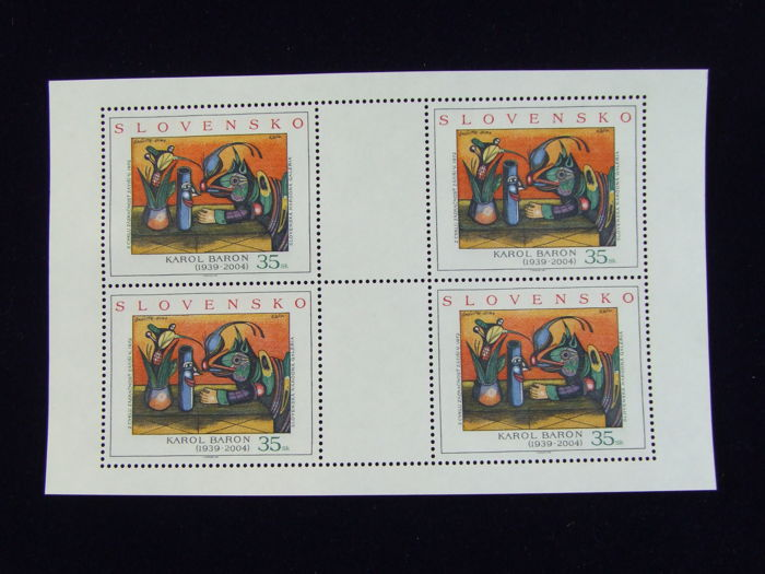 Slovakia up to 2006 - 95 different blocks and sheetlets in mostly complete editions