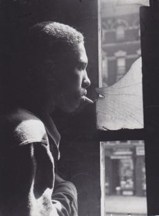 Gordon Parks (1912-2006) - Harlem Gang Leader, New York, 1948