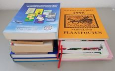Accessories - various catalogues and literature, concerning primarily Dutch philately