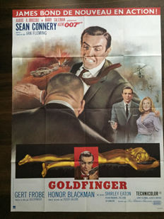 Jean Mascii - James Bond, Goldfinger - 1964