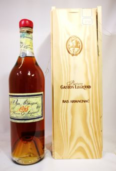 1965 ( 50 years old ) Baron Gaston Legrand Bas Armagnac 40% abv.