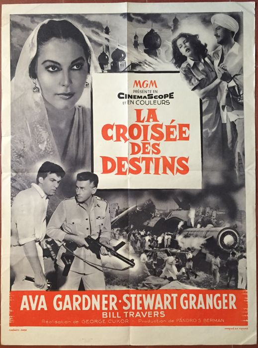 Anonymous - La Croisée des destins / Bhowani Junction (Ava Gardner, Stewart Granger) - 1956