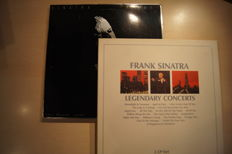 Frank Sinatra Boxsets, 2 boxes of 3 records each, in good condition