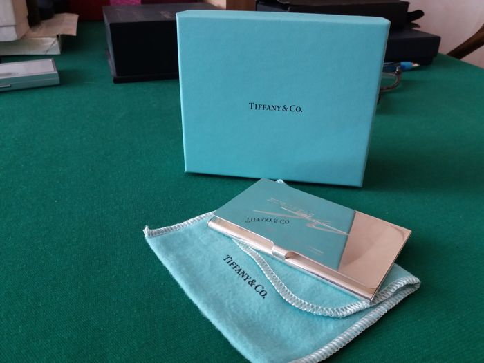 Special edition 925 silver Tiffany card holder