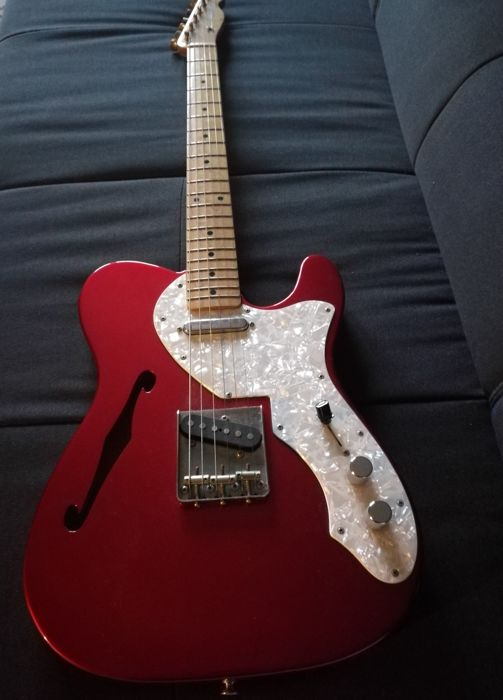 Fernandes telecaster Thinline - made in Japan - late 80s