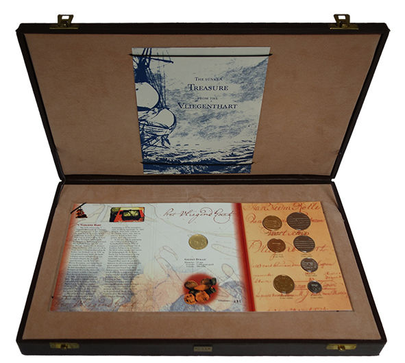 The Netherlands - Coin set 'Vliegend Hart' 1998 incl. Gold Ducat 1729