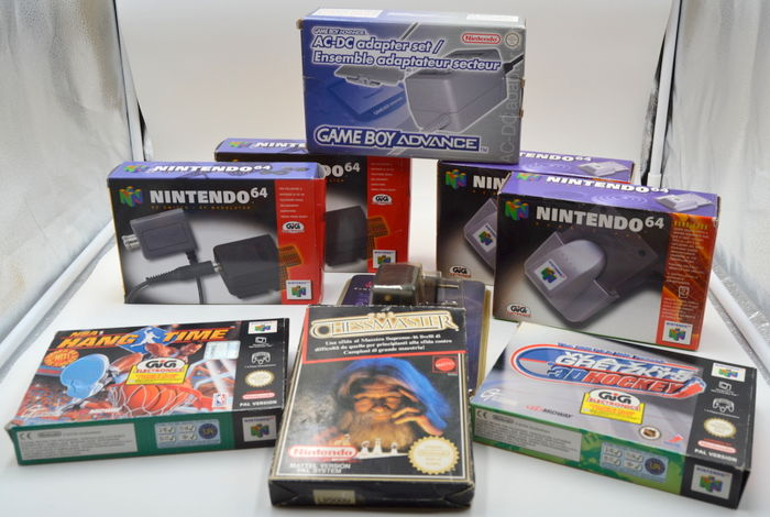 Lot of vintage Nintendo64 , Nes games and hardware  NEW - Catawiki