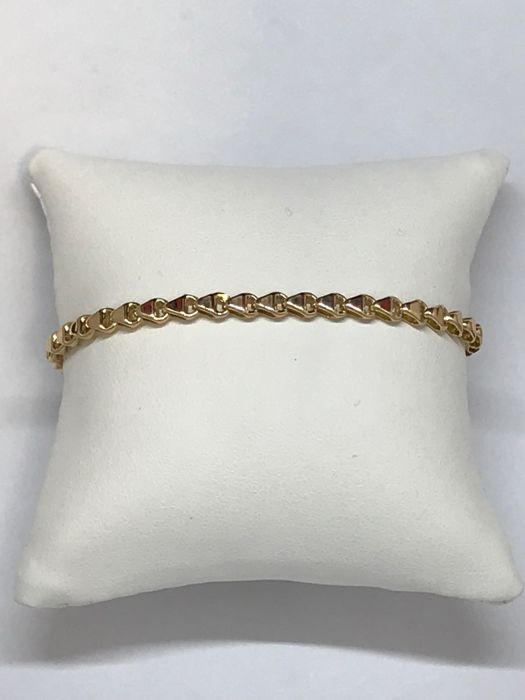 Chimento - 18 kt yellow gold bracelet, length: 20 cm, weight: 6.3 g