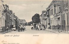 Delfzijl, 48x - old and very old views of the village- and harbour