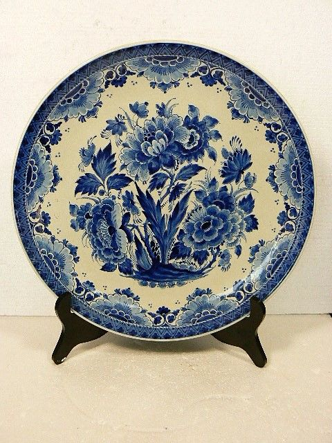 De Porceleyne Fles - Large decorative plate