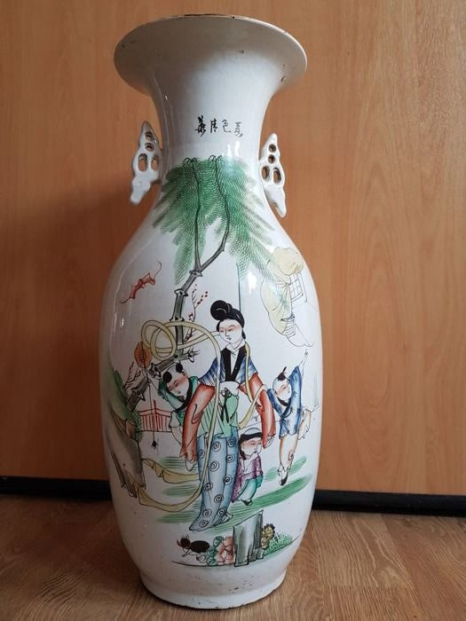 Chinese vase - China - mid / late 20th century
