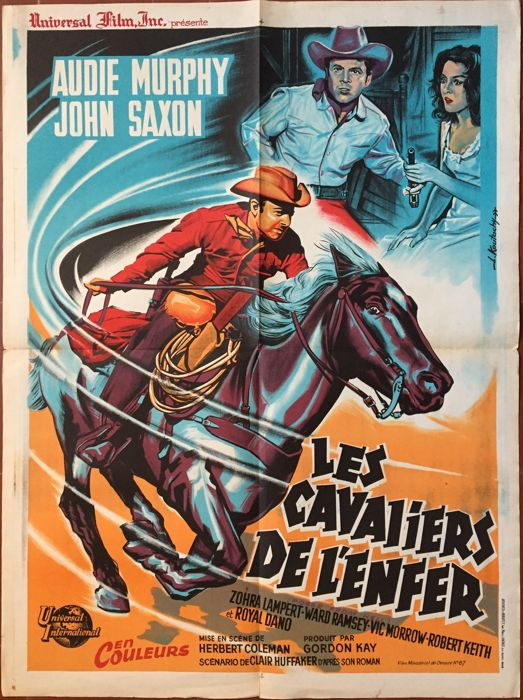 Koutachy - Les Cavaliers de l'Enfer / Posse from hell (Audie Murphy, Western) - 1961