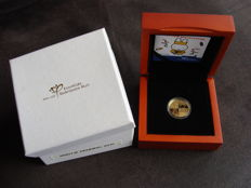 The Netherlands - Medal 2015 '60th anniversary Miffy' in canteen - gold