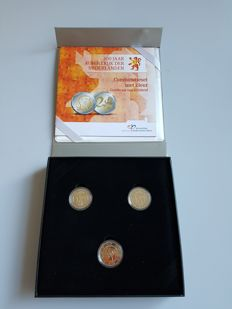 "The Netherlands - combination set 2013, ""200 years Kingdom of the Netherlands"", in colour"