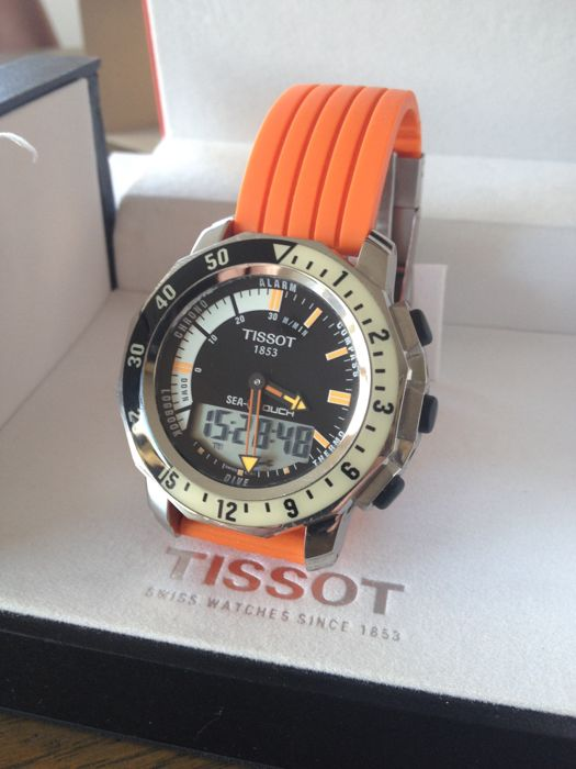 tissot sea touch diver men 2011 present catawiki rh auction catawiki com Tissot Diver Tissot Sea Touch Watch