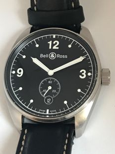 Bell & Ross - Automatic Open Back - 123S04737 - Heren - 2011-heden