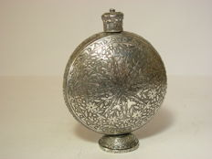 Moon flask Silver - Iran middle of the 2nd half of the 20th century.