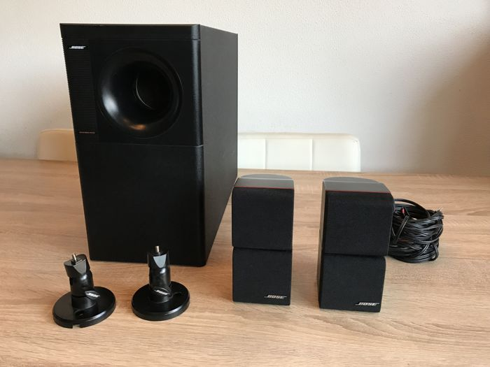 complete bose acoustimass 5 series 2 redline ambient sound from only 2 speakers catawiki. Black Bedroom Furniture Sets. Home Design Ideas
