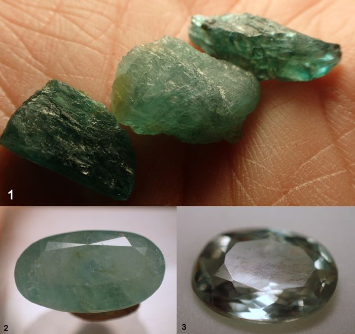 Very nice Rare Collection with Alexandrite and Grandidierite - 25.85ct (5)