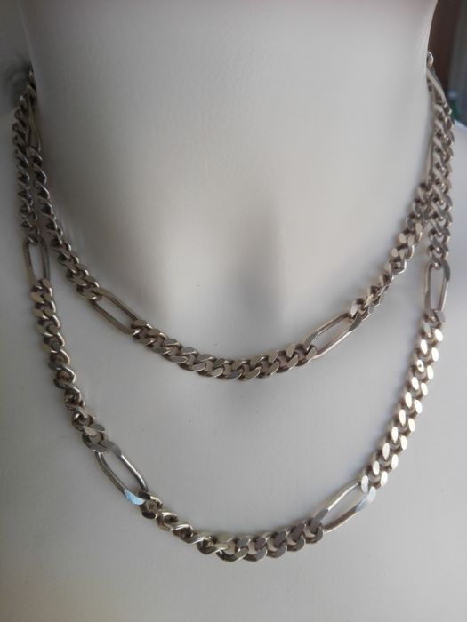 Necklace (90 cm) in 925/1000 silver