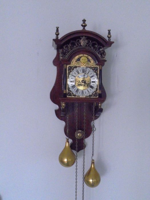 Sallander Dutch Wall Clock, second half 1900