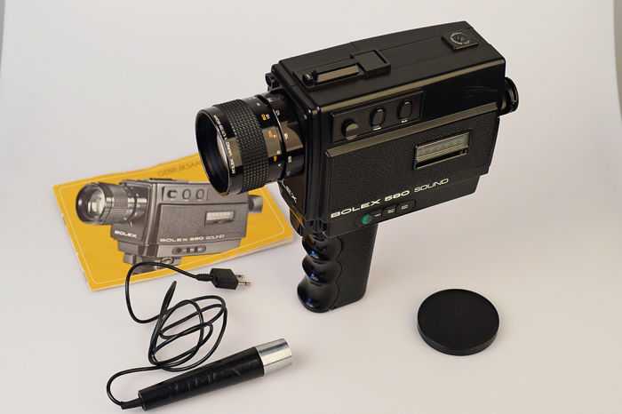 Bolex 580 sound 8mm film camera