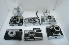 6 rangefinder cameras: an lford: Sportsman R (Instant 126) made in the 1960s