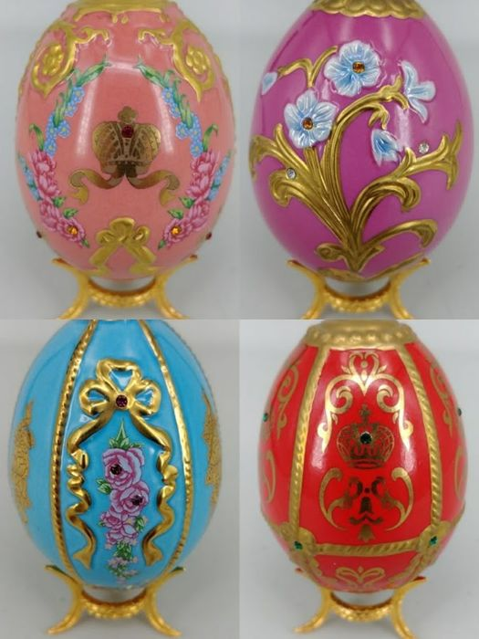 4 House of  Fabergé Eggs