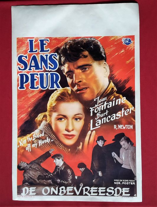 Kiss the Blood Off My Hands (Le sans peur ) - 1948