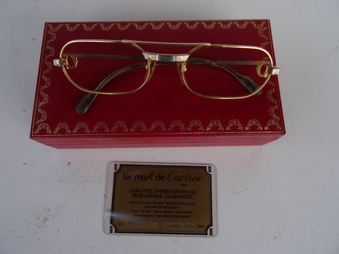 Lunettes Cartier Santos Vendome | CINEMAS 93
